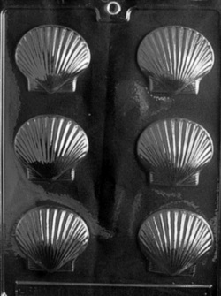 Medium Shells Chocolate Mold