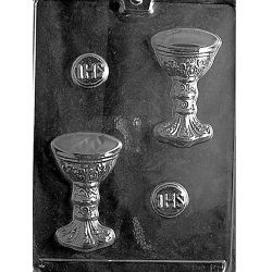 Chalice and Host Chocolate Mold LARGE