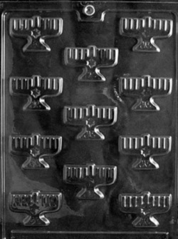 Menorah Chocolate Mold