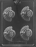 Turkey Cookie Mold