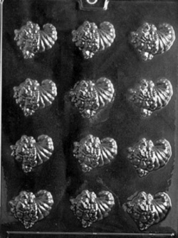 Cornucopia Chocolate Mold LARGE