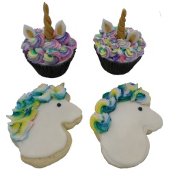 Unicorn Cupcakes and Cookies for Kids - January 8, 2019