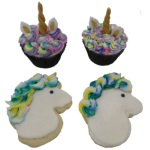 Unicorn Cupcakes and Cookies for Kids - October 3, 2018