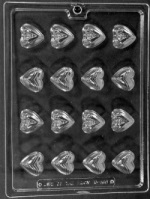 His & Hers Bite Size Heart Chocolate Mold