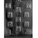 Love Squares Chocolate Mold
