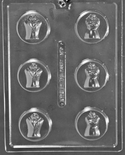 Bride & Groom Cookie Chocolate Mold LARGE