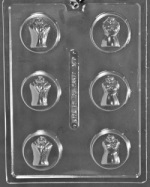Bride & Groom Cookie Chocolate Mold THUMBNAIL