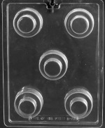 Wedding Cake Cookie Chocolate Mold