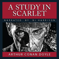 A Study in Scarlet, by Sir Arthur Conan Doyle (Unabridged mp3/AAC Audiobook down THUMBNAIL