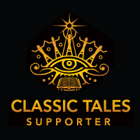The Classic Tales Podcast Financial Supporter -Magnanimous ($120, one time payment) LARGE