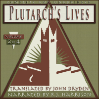 Plutarch's Lives, Volume 2 of 4 THUMBNAIL