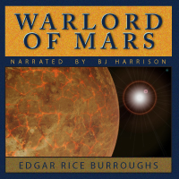 Warlord of Mars, by Edgar Rice Burroughs (mp3/AAC Audiobook download) THUMBNAIL