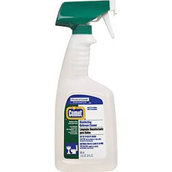 Disinfectant, Comet Professional Liquid, Bathroom Cleaner, 32 Oz.