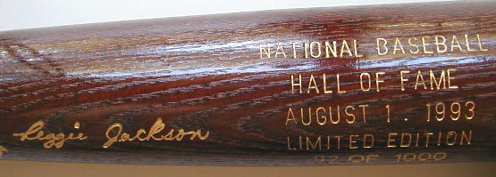 1993 Hall of Fame Induction Bat_MAIN