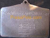1930 New York Giants Sterling Silver Season Pass Mini-Thumbnail