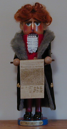 """ Thomas Jefferson"" Limited Edition Steinbach Nutcracker"