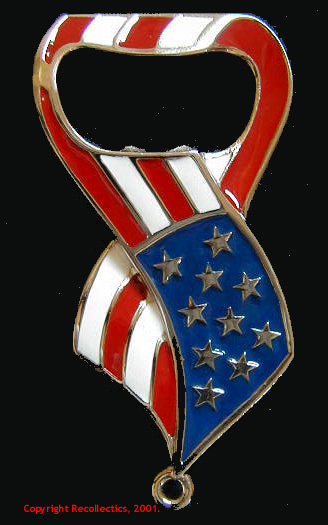 Stars and Stripes Bottle Opener MAIN