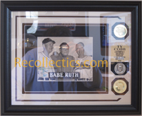 Ty Cobb Autographed Wire Photo_SWATCH