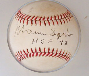 Warren Spahn HOF '73 MAIN