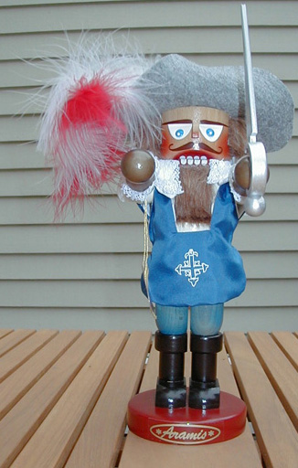 """Aramis"" Limited Edition Steinbach Nutcracker (signed by Mr. Steinbach) MAIN"