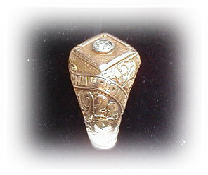 1922 Ralph Shinners New York Giants World Series Ring MAIN