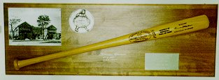 1984 Hall of Fame Louisville Slugger Induction Award