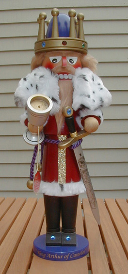 """King Arthur"" Limited Edition Steinbach Nutcracker"