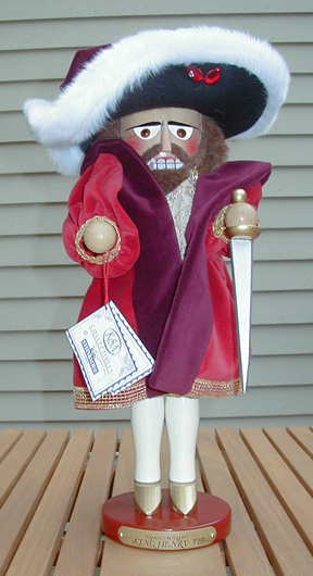 """ King Henry VIII"" Limited Edition Steinbach Nutcracker MAIN"