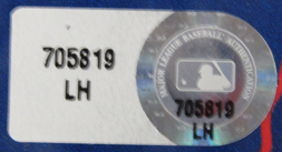 2009  All-Star Game Mark Teixeira Game-Used Locker Name Plate LH705819 Mini-Thumbnail