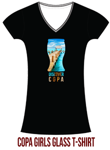 Copa Girls Glass Tee