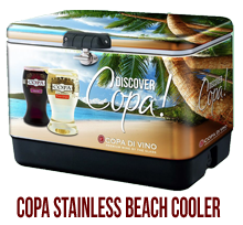 Copa Stainless Beach Cooler