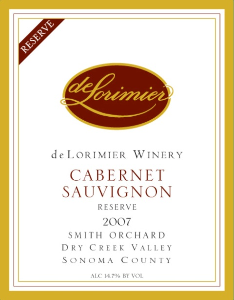 2006 Cabernet Sauvignon, Smith Orchard Reserve