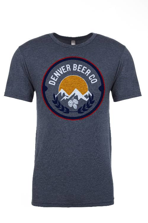 Denver Beer Co Men's Crew Neck with Classic Full Color Logo_MAIN