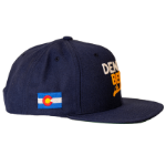 Denver Beer Co Flat Brim Hat - Navy SWATCH