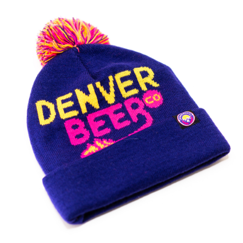 Denver Beer Co Beanie - Pom Pom MAIN