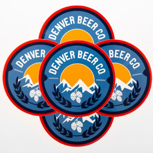 Denver Beer Co Stickers MAIN