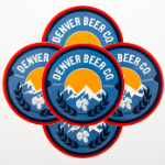 Denver Beer Co Stickers SWATCH