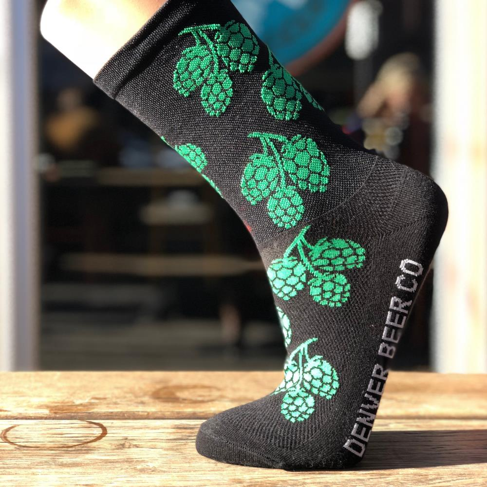 DBC Socks - Green Hops
