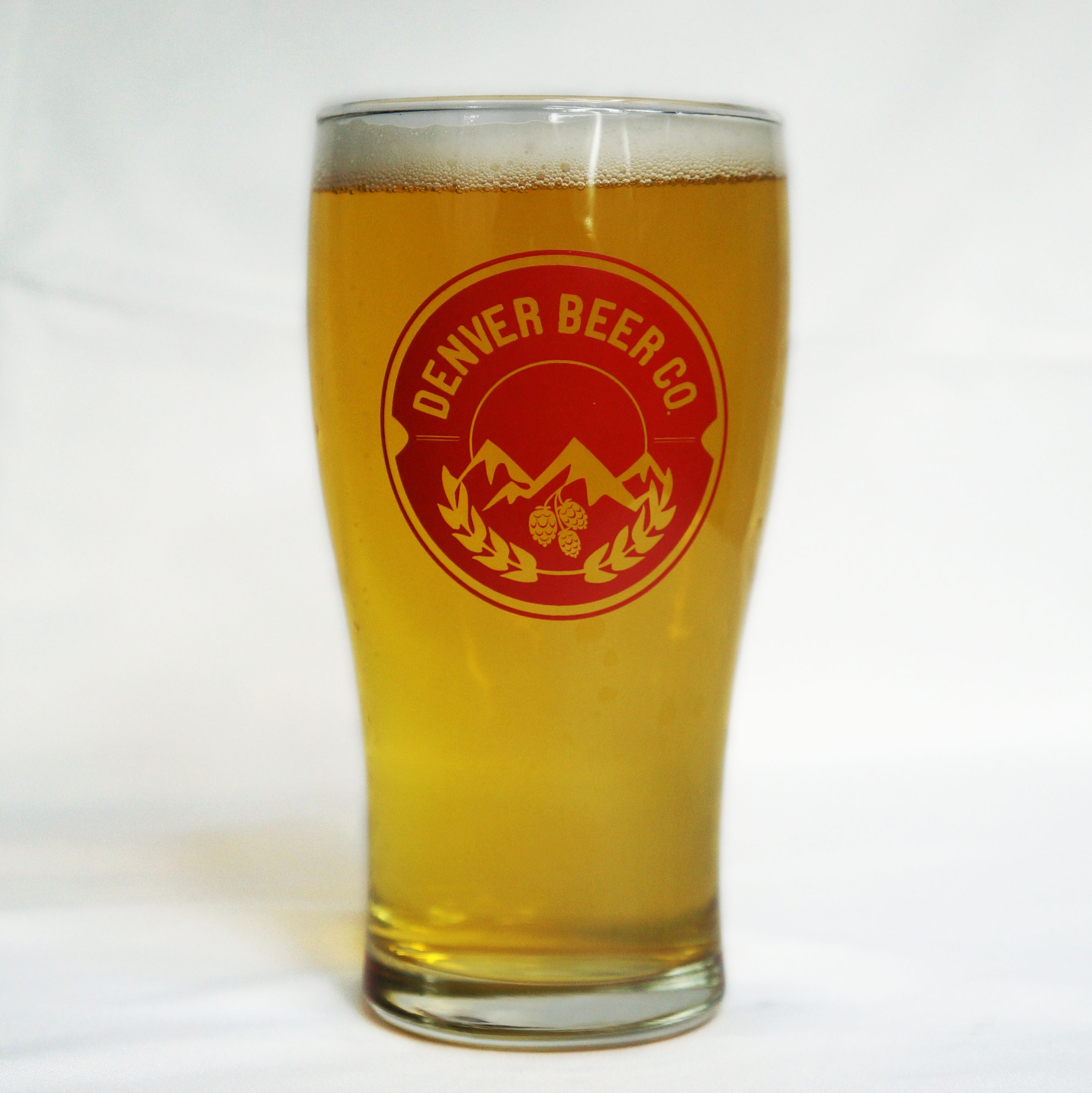 DBC Logo Pint Glass