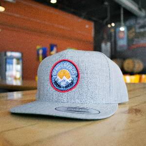 Grey Bro Steeze Classic Snapback hat