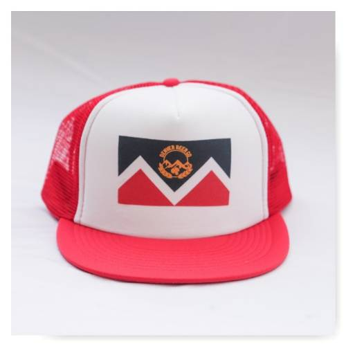 DBC Red Trucker Hat