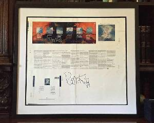 Holy Relic 8: Autographed & Framed November Suite Press Sheet