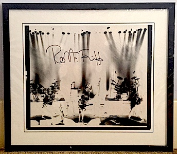 Holy Relic 14: Autographed & Framed Film from THRaKaTTaK