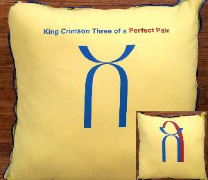 Pillow - Three of a Perfect Pair (Yellow)
