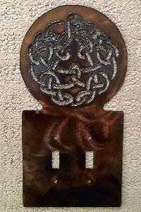 Metal - Discipline Knot (Light Switch Plate)