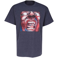 T-Shirt - In The Court Of The Crimson King (Vintage Distressed)