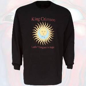 T-Shirt - Larks' Tongues in Aspic (Black, Long Sleeve)