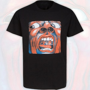 T-Shirt - In The Court Of The Crimson King (Black)