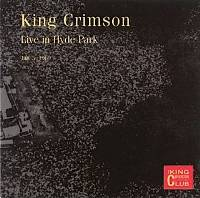 King Crimson - CC - Hyde Park, London, 1969