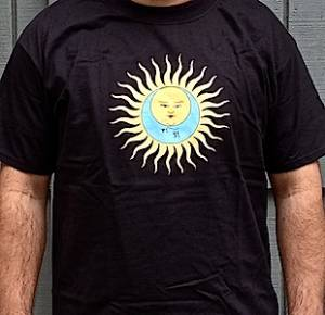 T-Shirt - Larks' Tongues in Aspic (black with no text)